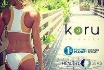 Koru Swimwear 2014 / Eco-friendly, recycled, swimwear that gives back.