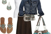 Southern Gal Style / Southern Fashion. Clothes to work in, play in, worship in, and flirt in. ;) With our husbands, of course!