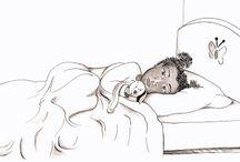 Dessin monde d'enfant / illustration pour enfant. idée de déco pour chambre d'enfant. Monde d'enfant