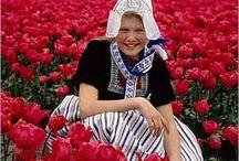 Dutch folkloric costumes