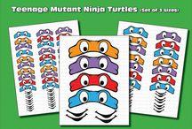 Teenage Mutant Ninja party / Teenage Mutant Ninja party