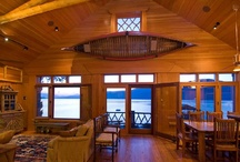 Chary Designed Pavilions / an extraverted boathouse living area and guest suite.