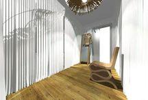 Návrhy interiérů / Návrhy interiérů RD, Návrh a design atypického nábytku http://www.interiorstudio.cz/