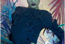 Makeup LookBoard Cosmetic Ads
