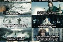 LOTR and THE HOBBIT / The lord of The rings and The hobbit