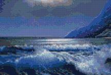 landscape cross stitch