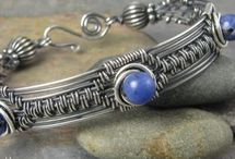 JEWELLERY - WIRE AND BEADS
