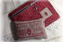 Cross My Heart / Cross Stitch and Embroidery / by Cecilia Hanna LaDéesse