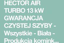 HECTOR AIR TURBO 13 kW GWARANCJA CZYSTEJ SZYBY