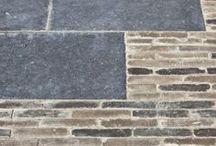 Paving stones patio