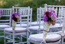 Aisle Style / Interesting ideas for your wedding ceremony aisle.