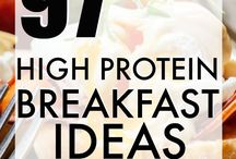 High protein breakfasts