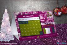 the color palette calendar_blog's christmas gift / color palette calendar 2016