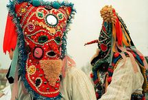Eastern European art, masks & costumes