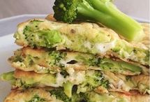 crepioca de brócolis