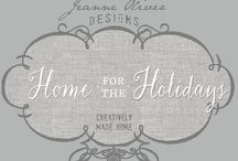 Creatively Made Home {Home for the Holidays} / We are excited about sharing our stories, traditions, decorating, recipes and homes with you in the online course Creatively Made Home {Home for the Holidays}. This board is full of inspiration for opening up your home and loving on those around you.  We hope this board will be inspiring before the course begins on October 15, 2013.