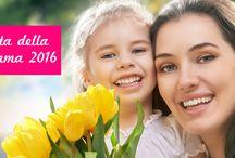 Festa della Mamma 2016 / L'8 maggio vogliamo festeggiare la persona più importante del mondo con i nostri speciali prodotti pensati per il suo benessere. Ogni prodotto contiene un'essenza particolare: vaniglia, gelsomino, magnolia, cocco... Scopri la nostra selezione.