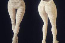 Dolls bodies crochet