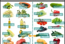 FOOD: healthier eating / herbs and spices, charts and menu planning / by Kimberly Rose