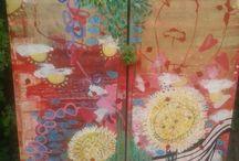 art from the h♥art / fun art paintings by tilltil www.sierraadsels.nl