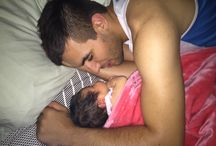 Mia is a daddy's girl!
