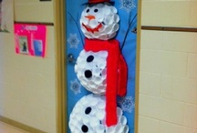 Christmas decoration for classroom