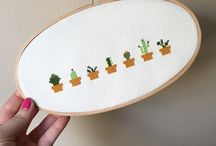 crosstitch embroidery