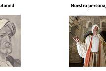 """""""Nuestros Personajes"""" / Vas a poder apreciar, algunos de nuestros personajes, así como un poco de lo que representaron antiguamente para Sevilla."""