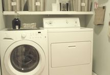 Small laundry / by Carly Williams