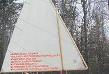 Kayaks - kanoes, kajakit - kanootit