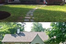 Before and After Houses