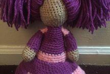 Faatimah's crochet dolls!