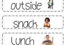 Kindergarten/Preschool Ideas / by Michelle Miller