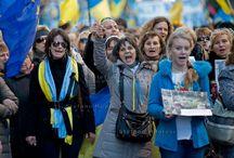 Ukrainian community in Italy - demonstration