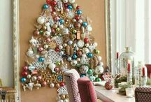 Xmas trees in a small space