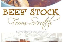 { Homemade } / Food, mixes and spices made from scratch.