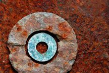 .rust. / by Charlotte Wind