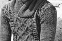 Sweaters Cable Black & White Pictures