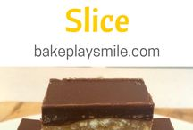 Recipes - sweet slices