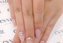 wedding make nails hairs