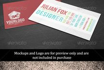 Creative Business Cards / Unique & Creative Business Card Design Ideas & Templates