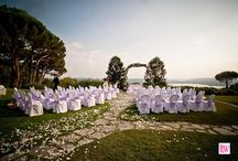 Outdoor ceremony Inspiration / Outdoor ceremony decorations by Italian Wedding Company - Wedding Planners in Italy