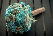 BROOCHES and FLOWERS makes a wedding!! / by Trisha Hessifer Guidry