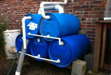 Rain Barrels / Rain barrels and irrigation for your home garden.