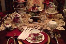 Table decor for tea