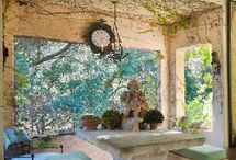 Outdoor Living / Spaces outdoors that are awesome, and garden ideas