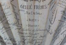 Portfolio d'antan / Retrouvez toutes les archives de la maison Gellé Frères: #cartesparfumées, #affichespublicitaires, #objetsanciens, #temoignagesdartistes, etc... Comment les trouvez-vous ?