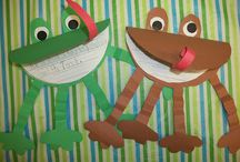 Frog and toad / by Eileen Ward