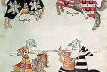 Medieval/Renaissance Horses and Tack