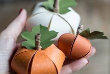 pomysły na dynie | pumpkin decoration ideas